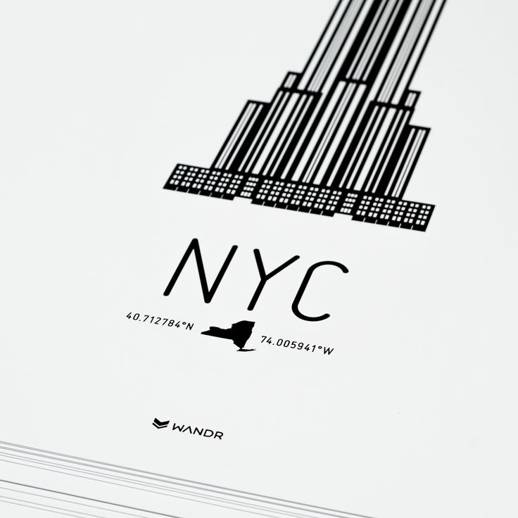 New York City Icon poster