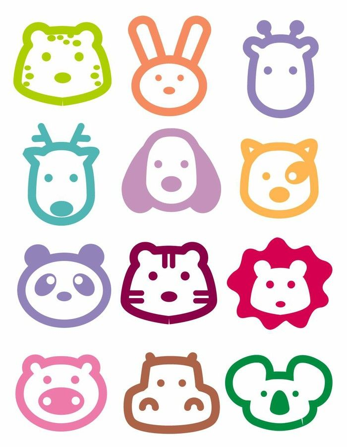 Easy animal shapes