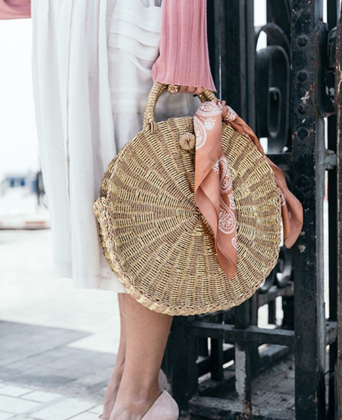 pinterest, style, inspiration, tips, summer, basket bags, shop, round basket bag, affordable finds, maternity, street style, inspo, vibes, trends, 2017, photography, pretty, sazan hendrix, blogger, fashion
