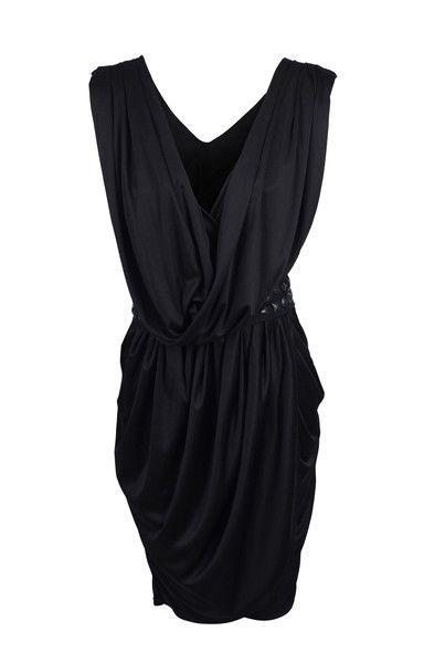#RachelRoy Black Silk Wrap Dress SZ M  $175.00  #LoveThatCloset #Designer #Consignment #Sale #Dress