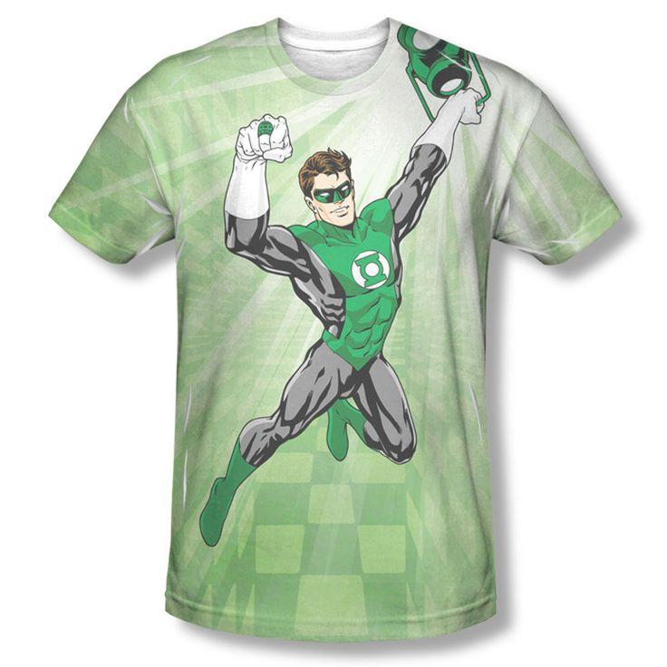 Camiseta Manga Corta Green Lantern Light Blanco 2XL DC Comics E9UhpPSO4A