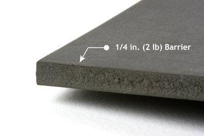 Quiet Barrier HD Soundproofing Material (Sheet) (PSA)