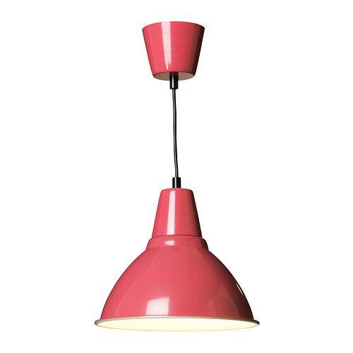 FOTO Lampa wisząca IKEA Lampa daje przyjemne światło w jadalni i rozprowadza dobrze ukierunkowane światło nad stołem w jadalni lub barkiem.