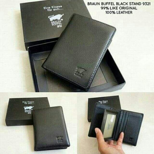 Temukan dan dapatkan Wallet BRAUN BUFFEL BLACK STAND 9321 ORIGINAL QUALITY hanya Rp 180.000 di Shopee sekarang juga! #ShopeeID  http://shopee.co.id/wfashioncenter/1437882