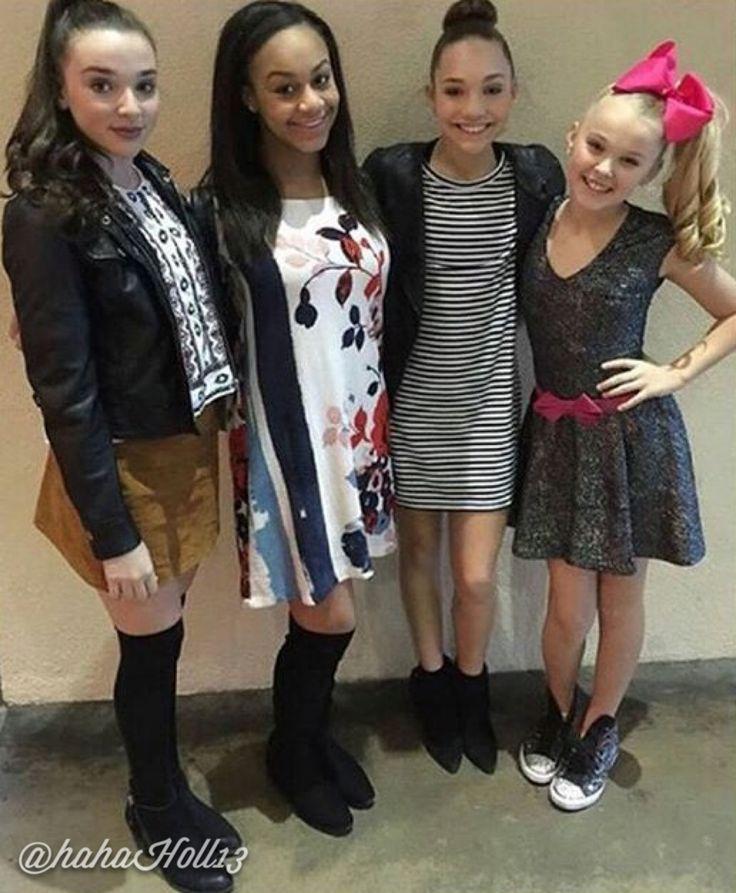 Kendal ,Nia, Maddie and Jojo