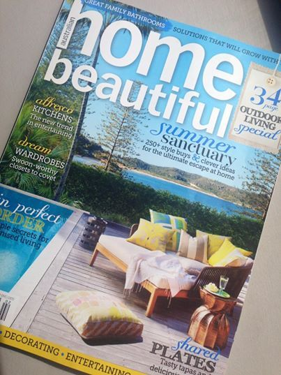 Home Beautiful Magazine Australia featuring our very beautiful Tribu Mood Daybed on the front cover of their February issue.  http://www.coshliving.com.au/