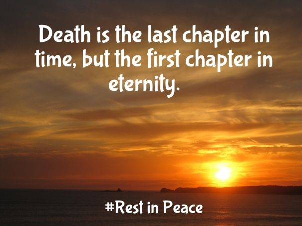 Rest in Peace Quotes with Pictures - RIP Sayings