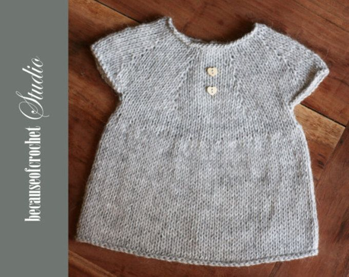 """This is a listing for The PATTERN ONLY. Skill Level: Intermediate Finished size approx.: length – 8"""", width – 5 ½"""" Worked top – down Materials needed • USA 3/EU 3mm straight knitting needles • USA D-3/EU 3mm crochet hook (to make buttonhole) • Yarn needle • One tiny button • 150 yards wool/acrylic weight 2 yarn Gauge: 10 sts = 1 ½ Its important to obtain the right gauge. Everyone's tension is different. If your piece is smaller, try using a larger needles. If it is lar..."""