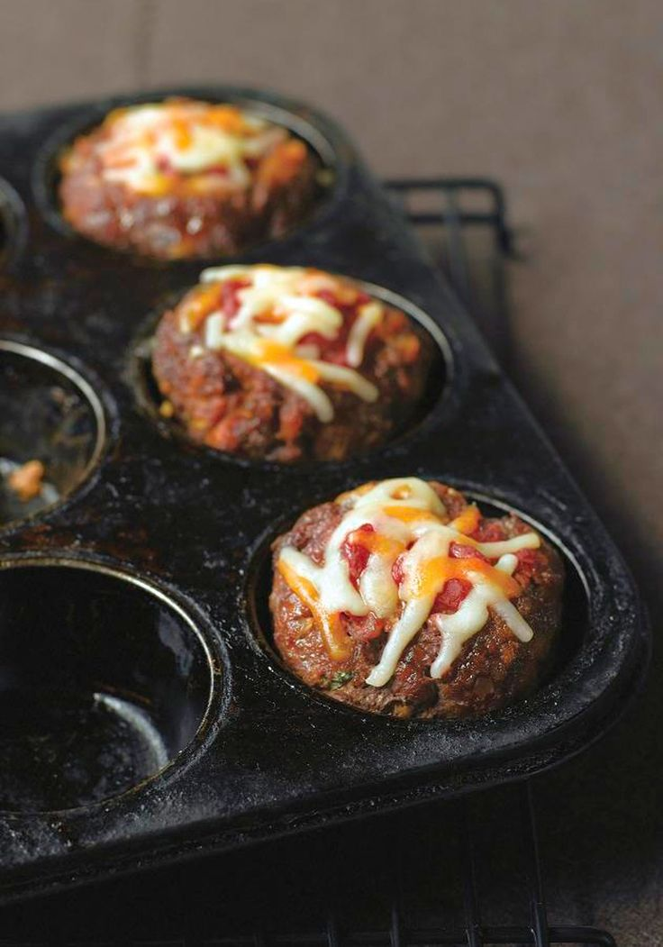 Marvelous Mini Meatloaves — A customized take on a dinner favorite means it's all about you! You not only get your own mini meatloaf, but you choose your cheese, seasoning and add-ins too.