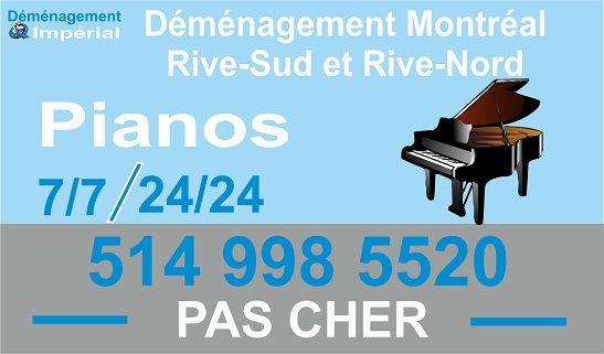 Déménagement Piano Montréal