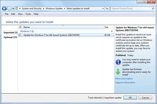 Flame virus spread through rogue Microsoft security certificates