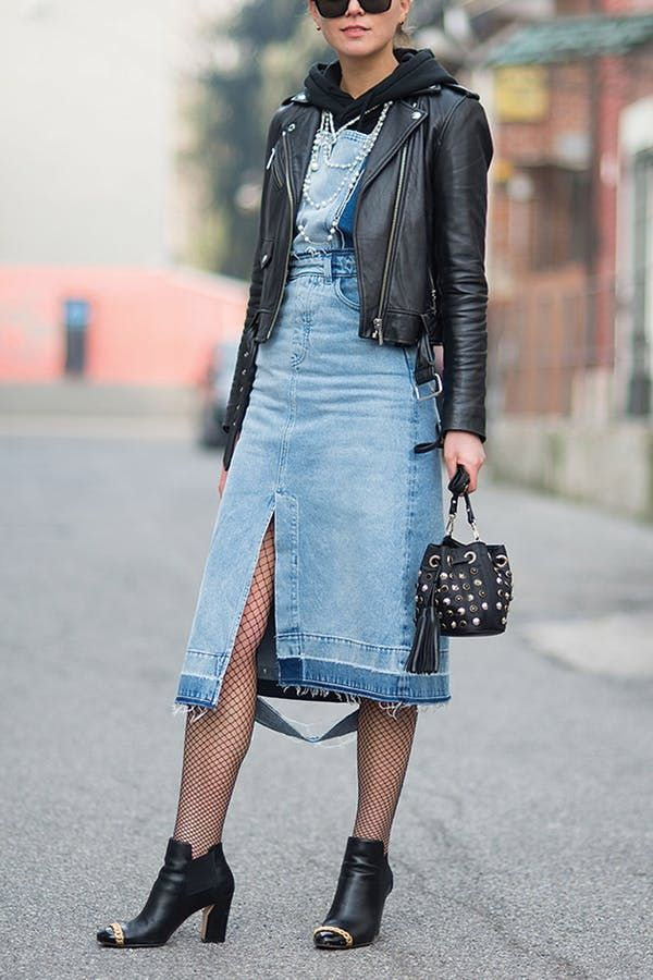 Fishnets Are Back, Baby, and Here's How to Wear Them (Like an Adult, in Daylight)  via @PureWow