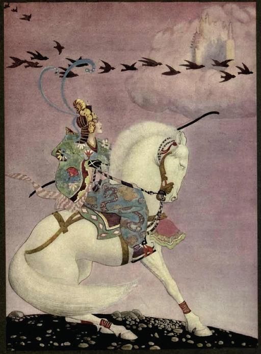 "Thomas Mackenzie ~ from ""Alladin"" (illustration) 1919"