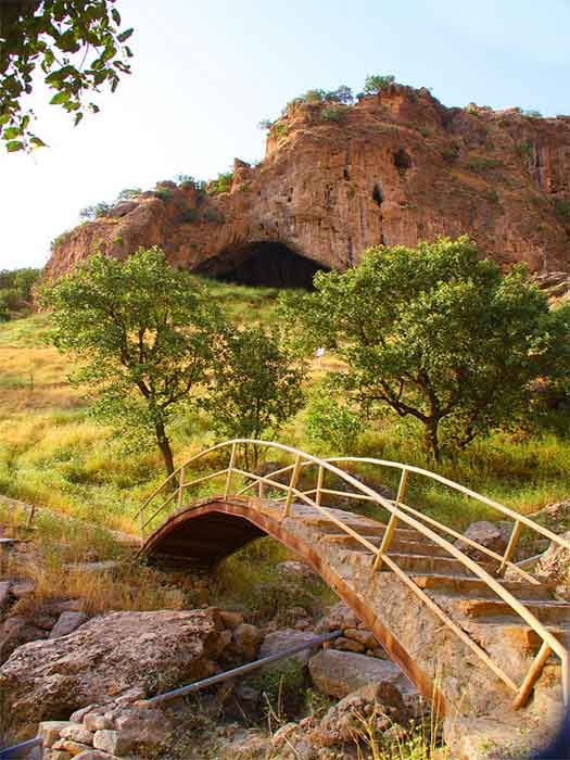 Shanidar Cave, an archaeological site in the Bradsot mountain, Zagros Mountains in Erbil Governorate, Kurdistan #CheapflightsGG