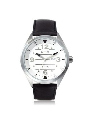 76% OFF JBW Men's J6282E Black/Silver Stainless Steel Watch