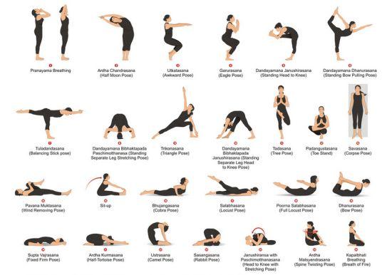 10 Basic Yoga Positions | http://www.aurawellnesscenter.com/blog/ #AffordableYogaInstructorTrainningProgram #BecomingPopularPractice #EssentialforYogaTeachers