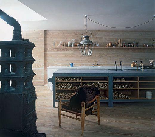 European style wood stoves