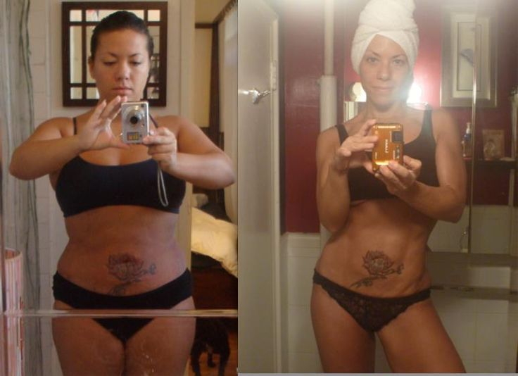 whoa!! she went from 168 lbs to 119 lbs doing Zuzana Light's workouts!