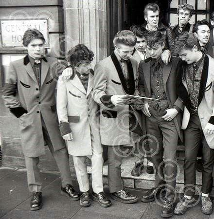 Image result for teddy boy aesthetic
