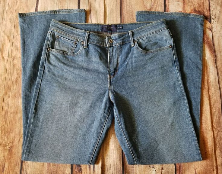 Levi's San Francisco Womens Classic Boot Cut Light Wash Jeans, Size 12/31  #Levis #BootCut