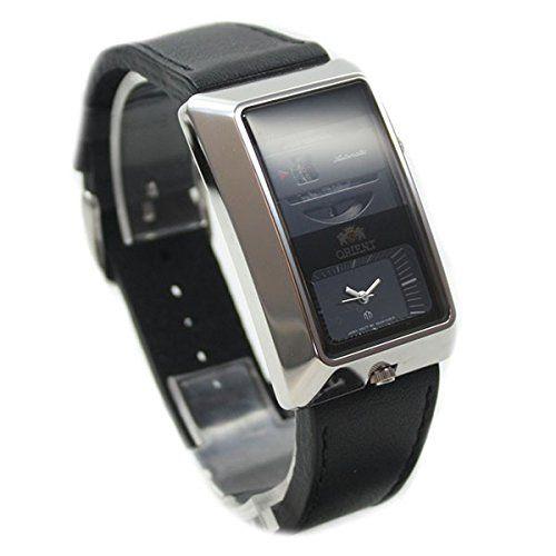 Reloj de cuarzo reloj de pulsera para hombre automático correa de piel hora Dual 2nd zona horaria FXCAA003B0: Amazon.es: Relojes