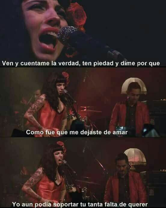 Tu falta de querer. -Mon Laferte. Listening now… having some beers 🍻 and crying 😢 with mon laferte music… this song particularly…