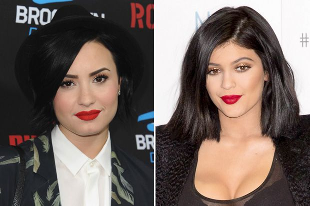 Demi Lovato has tried the Kylie Jenner lip trend and here's what she has to say/ {click the link to read about it}