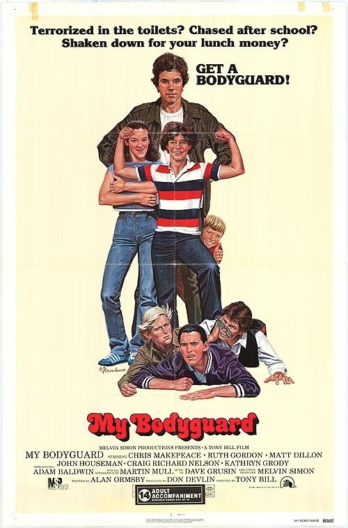 My Bodyguard - sweet little movie with a great cast.