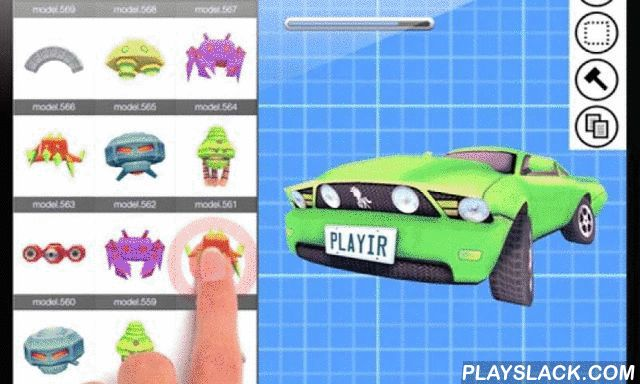 Playir: Game & App Creator  Android App - playslack.com ,  *Currently in BETA*Playir is a mobile app and game creation platform, that allows you to create your own games and apps from pre-made templates.You can customize your apps using UI, Level, Character, 3D Model and Visual Code design tools.Then instantly release your apps to run on the Playir app or via a web link you can post on twitter, or embed in an iframe.For more information and tutorials, visit: http://playir.comOr send us a…