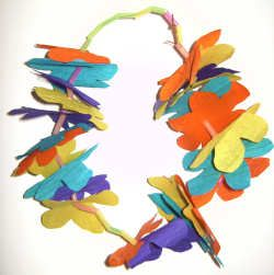 Flower Garland craft - could be a Diwali activity