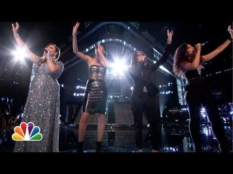 "Judith Hill, Sasha Allen, Sarah Simmons and Michelle Chamuel: ""Diamonds"" -#VoiceTop8"