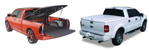 Tonneau covers refers to a soft or hard cover that is used in protecting the bed of a pickup truck. Hard tonneau covers use the folding or hinging mechanism to open. On the other hand, soft tonneau covers use a rolling up mechanism to open. Tonneau covers are used in concealing cargo.