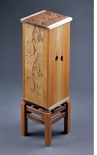 Uniquely carved furniture