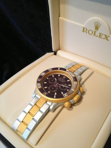Rolex watch cake...hubby would so love for his birthday                                                                                                                                                                                 More