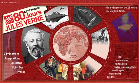 57 volumes des Voyages extraordinaires en ligne – Jules Verne | | à livres ouverts | Scoop.it