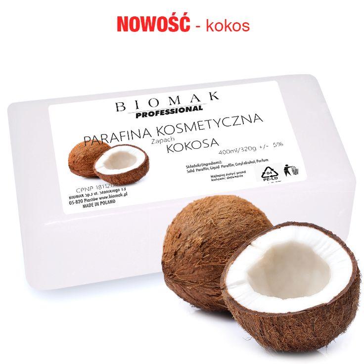 Parafina kosmetyczna / zapach kokos - Biomak - producent sprzętu kosmetycznego