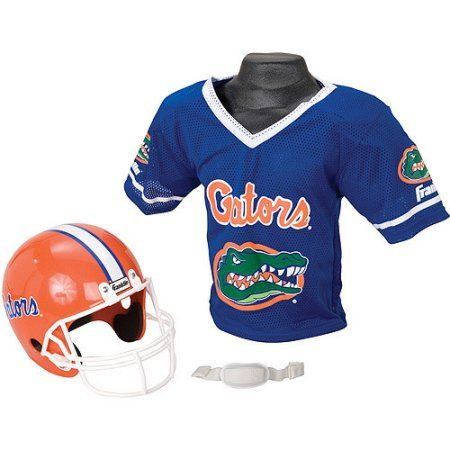 Franklin Sports Ncaa Florida Gators Helmet Jersey Set