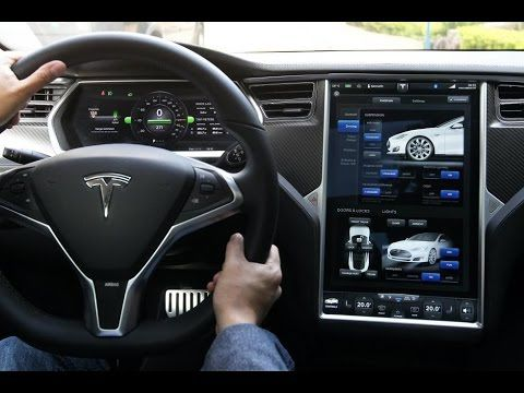 TESLA MODEL S full review +first drive +interior +test drive 2015