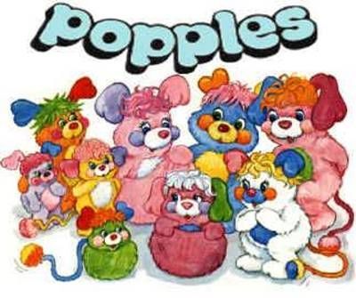 I had a Popples pillowcase...I think my parents still have it....