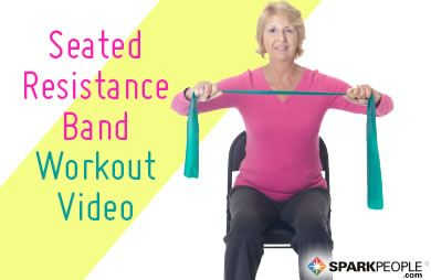 VIDEO: 20-Minute Seated Resistance Band Workout via @SparkPeople