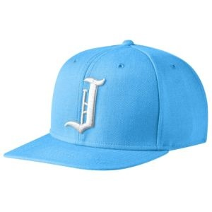 "Jordan True ""J"" Snapback Cap - Men's - University Blue/White"