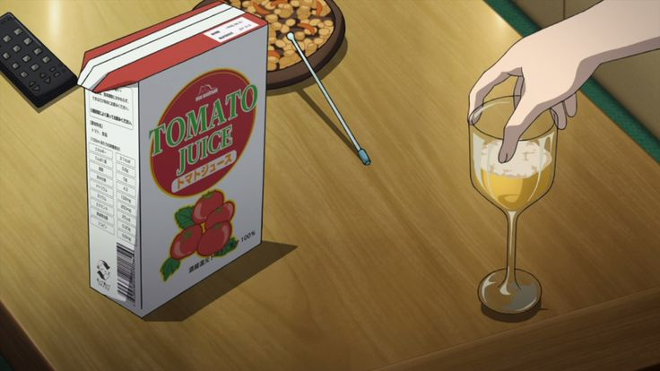 Another 02 - Reiko mixed the wine with tomato juice #AnimeFood  https://www.facebook.com/DeliciousAnimeFood/