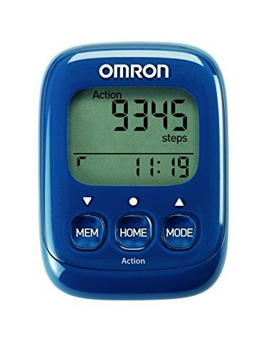 Omron Walking Style IV Step Counter - Blue, Size 1: Amazon.co.uk: Sports & Outdoors