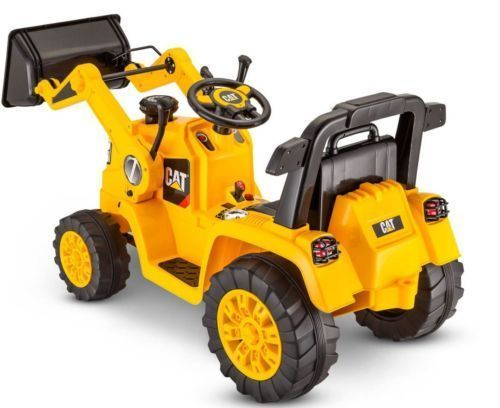 Kidtrax Cat Bulldozer Tractor 6v Battery Powered Ride On