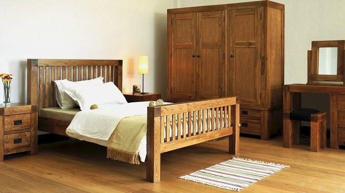 Campaign solid oak bedroom range