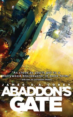 Abaddon's Gate by James S.A. Corey    My book review: https://www.goodreads.com/review/show/2086419671?book_show_action=false&from_review_page=1