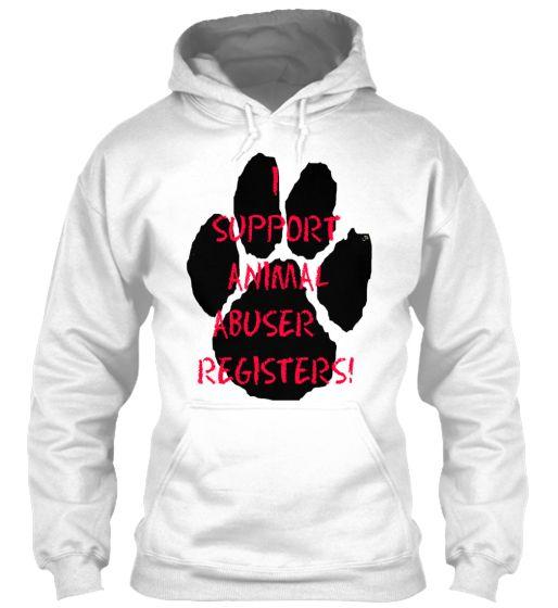 I support Animal Abuser Registers!