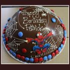 Spiderman Smashing Cake