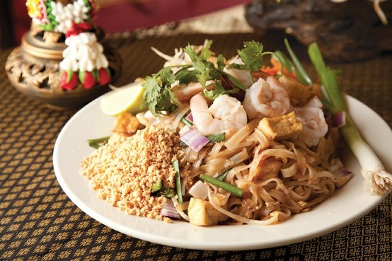 Spicy Fried Rice With Bean Sprouts, Chicken, And Peanuts Recipes ...