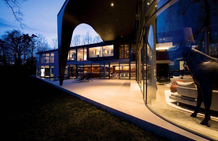 SAOTA Lake House Switzerland 4 Outdoor Oriented Dream Home/Office Implants ModernAfrican Aesthetic in Switzerland
